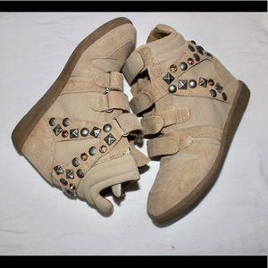 Aldo Shoes - Trendy Aldo studded wedge sneakers